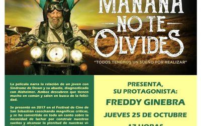 Cineforum en la UCA, «Mañana no te olvides»