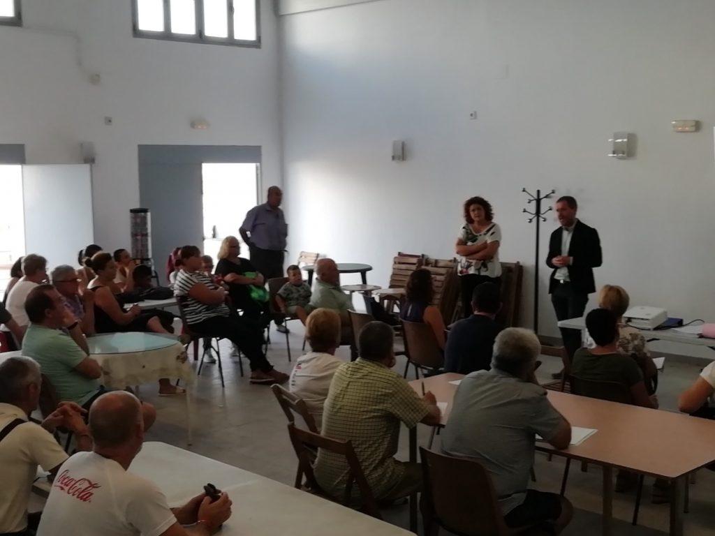Visita de Equa a Bazán