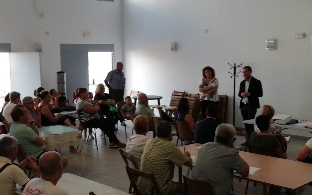 Dinamizamos el Proceso Participativo de elaboración del Plan Local de Zonas Desfavorecidas en la Barriada de La Bazán de San Fernando