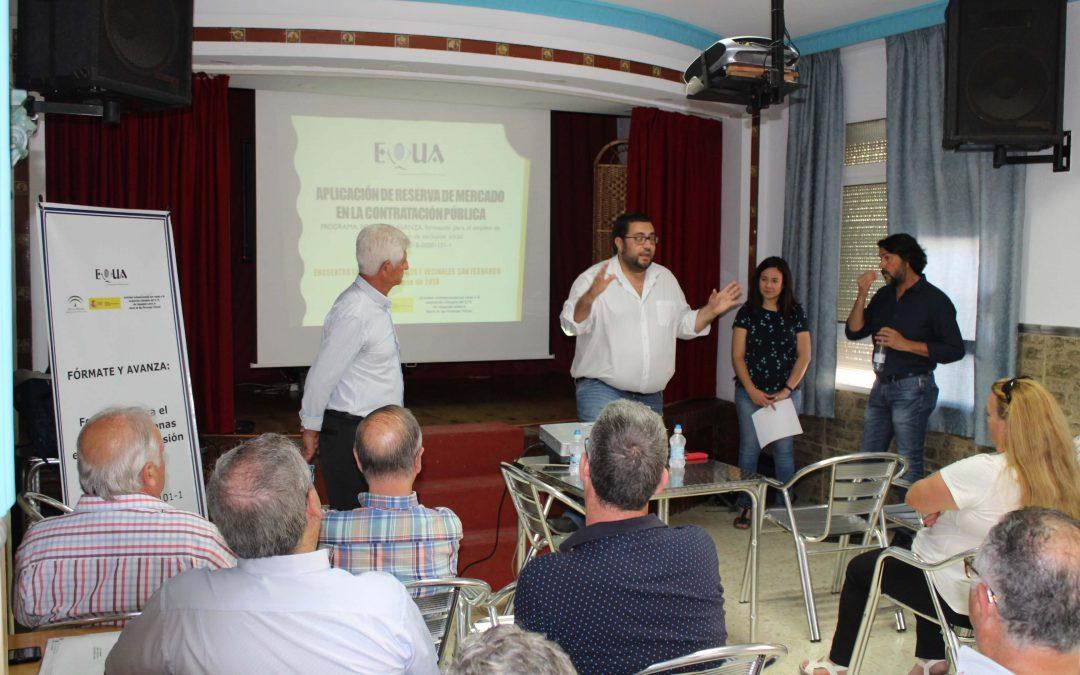 Equa sigue trabajando contra la exclusión social en la Bahía de Cádiz