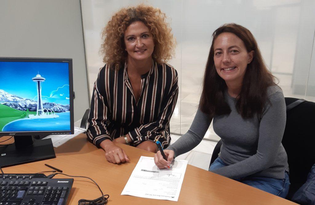 Firma de convenio con la Fundación Bancaria La Caixa